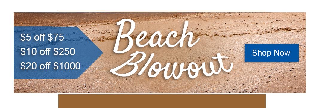 Beach Blowout Sale